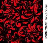 luxury seamless pattern.... | Shutterstock .eps vector #522272053