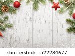 White Christmas Background Wit...
