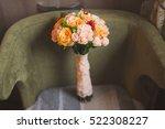Wedding Bouquet Of Orange  Red...