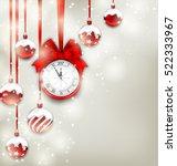 illustration new year magic... | Shutterstock . vector #522333967