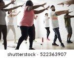 exercise international group... | Shutterstock . vector #522363907