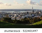 Distant View Of Auckland City...