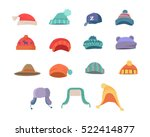 Set Of Hats For Boys And Girls...