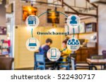 marketing data management... | Shutterstock . vector #522430717