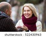 portrait of positive mature...   Shutterstock . vector #522430963