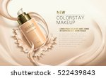 new colorstay makeup  contained ... | Shutterstock .eps vector #522439843