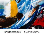 painted abstract background | Shutterstock . vector #522469093