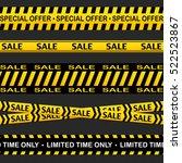 sale cross line vector sign.... | Shutterstock .eps vector #522523867