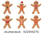 holiday food. gingerbread man...