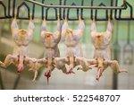 chicken meat processing factory | Shutterstock . vector #522548707
