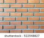 brick wall background or... | Shutterstock . vector #522548827