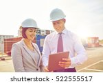 business  building  teamwork ... | Shutterstock . vector #522555517