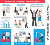 business training infographics... | Shutterstock .eps vector #522557983