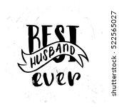 hand drawn calligraphy... | Shutterstock .eps vector #522565027