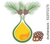 palm oil | Shutterstock .eps vector #522572173