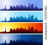 new york city | Shutterstock .eps vector #52257481