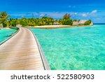 beautiful water villas in...