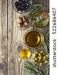 Olives With Olive Oil And...
