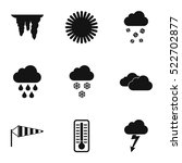kinds of weather icons set....