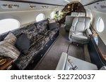 luxury interior in the modern...   Shutterstock . vector #522720037