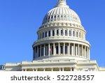 the capitol building in... | Shutterstock . vector #522728557