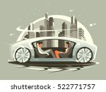car of future | Shutterstock .eps vector #522771757