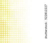 yellow donuts background ...   Shutterstock .eps vector #522812227