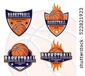 basketball logo  america logo | Shutterstock .eps vector #522821923