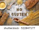 gluten free flour and cereals... | Shutterstock . vector #522847177