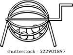 raffle   Shutterstock .eps vector #522901897