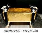 gold bar | Shutterstock . vector #522921283