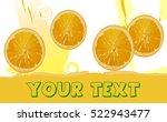 orange juice | Shutterstock .eps vector #522943477