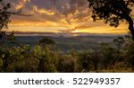 sunset in kondalilla national...   Shutterstock . vector #522949357