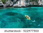 loh sa ma bay the entrance to... | Shutterstock . vector #522977503
