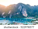 view point bay koh phi phi don... | Shutterstock . vector #522978577