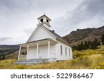 Old School House Or Church In...