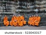 siem reap  cambodia   oct 20 ... | Shutterstock . vector #523043317