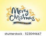christmas background | Shutterstock .eps vector #523044667