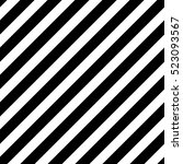 seamless black diagonal lines... | Shutterstock .eps vector #523093567