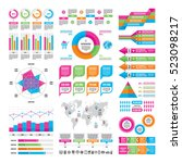 business infographic concept  ... | Shutterstock .eps vector #523098217