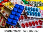 A Variety Of Medicinal Tablets...