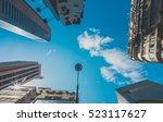 skyscraper buildings and sky... | Shutterstock . vector #523117627