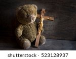 Teddy Bear With Jesus And The...