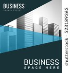 business building and city | Shutterstock .eps vector #523189363
