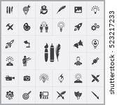 design tools icon. creative...