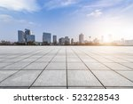panoramic skyline and buildings ... | Shutterstock . vector #523228543