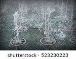 fountains in the ground | Shutterstock . vector #523230223