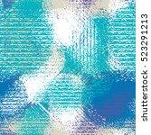 abstract grunge seamless... | Shutterstock .eps vector #523291213
