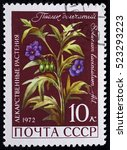 ussr   circa 1972. postage... | Shutterstock . vector #523293223