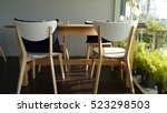 the empty cafe  coffee shop  ... | Shutterstock . vector #523298503